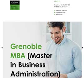 Grenoble MBA (Masters in Business Administration)