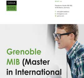 Grenoble Masters in International Business